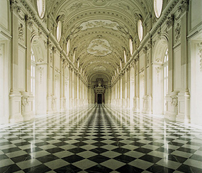 La galleria di Diana a Venaria Reale